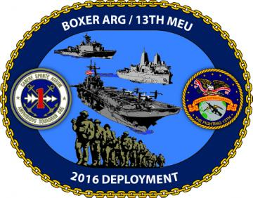 Boxer Amphibious Ready Group and 13th Marine Expeditionary Unit Deployment 2016