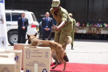 CANINE DETECTION PROGRAM TANZANIA