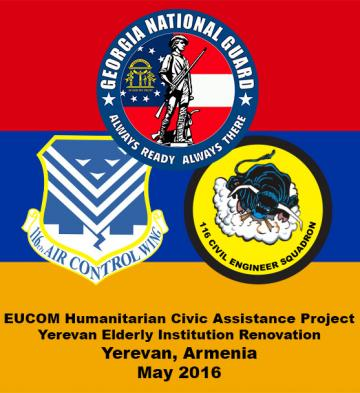 116th Civil Engineer Squadron, GA ANG, EUCOM Humanitarian Mission, Yerevan, Armenia