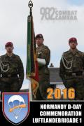 Normandy D-Day Commemoration Luftlandebrigade 1