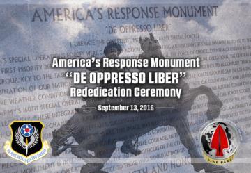 America's Response Statue Dedication