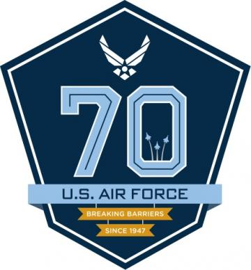 U.S. Air Force 70th Birthday