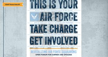 CSAF Focus Area #1: Revitalizing Squadrons