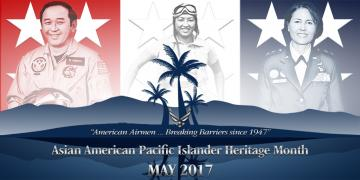 Air Force Celebrates Asian-American Pacific Islander Heritage Month