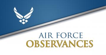 AIR FORCE OBSERVANCES