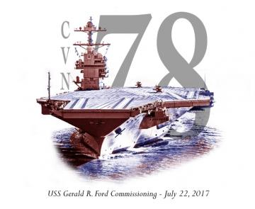 USS Gerald R Ford Commissioning