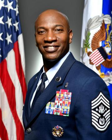 18th Chief Master Sergeant of the Air Force Kaleth O. Wright