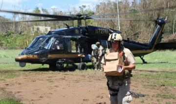 CBP Relief Support for Hurricane Maria