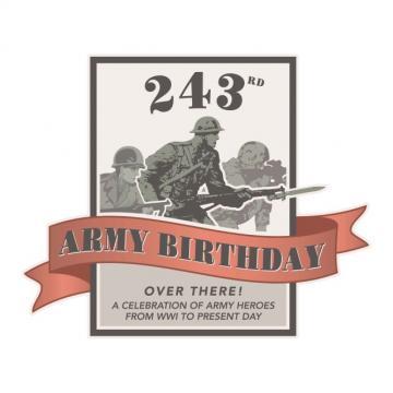 243RD Army Birthday