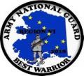 National Guard Best Warrior Region VI 2018