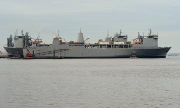 MV Cape Ray Chemical Destruction