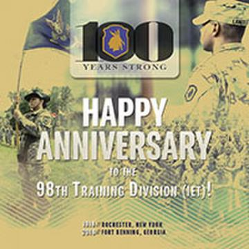 98th Training Division (IET) 100-Year Anniversary
