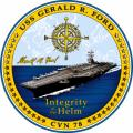 USS Gerald R. Ford (CVN 78) Change of Command