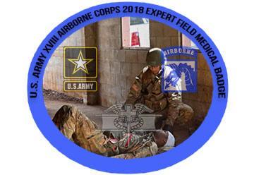 XVIII Airborne Corps Expert Field Medical Badge