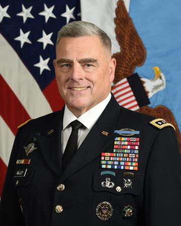 Chairman of the Joint Chiefs of Staff, Gen. Mark A. Milley