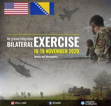 USAFE, BiH Air-to-Ground integration bilateral exercise