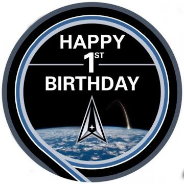 U.S. Space Force 1st Birthday