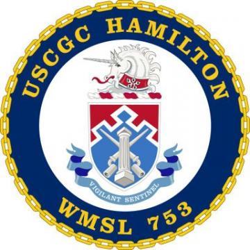 USCGC Hamilton to Europe