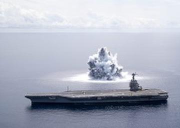 USS Gerald R. Ford's (CVN 78) Full Ship Shock Trials