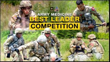 Army Medicine Best Leader Competition