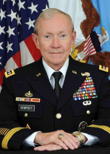 Chairman of the Joint Chiefs of Staff Gen. Martin E. Dempsey