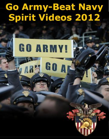 Go Army- Beat Navy Spirit Videos 2012