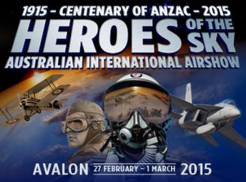 2015 Australian International Airshow and Aerospace & Defence Exposition (AIA15)