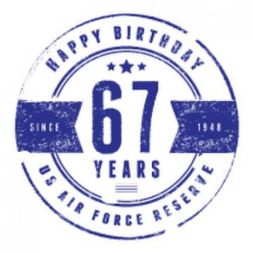 Air Force Reserve 67th birthday
