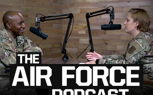 The Air Force Podcast - A Conversation on Resiliency with CMSAF Wright