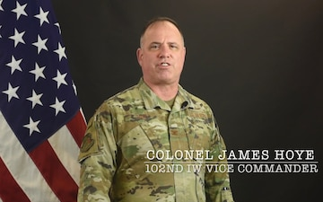 102nd Intelligence Wing - Command Message for January 2021 - Colonel James Hoye