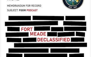 Fort Meade Declassified Ep 31 Andrew Pike for Army Emergency Relief