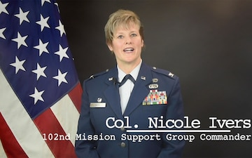 102nd Intelligence Wing Command Message for May 2021 - Col. Nicole Ivers