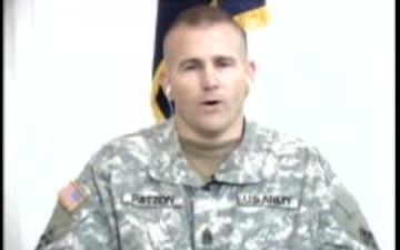 Command Sgt. Maj. Patton