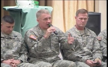 4th Infantry Division Town Hall Meeting, Part 4