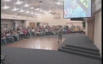 Fort Hood Town Hall Meeting - Oct. 2007