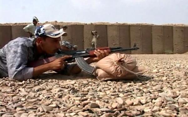 Iraqi Cadre train Iraqi Police at Firing Range