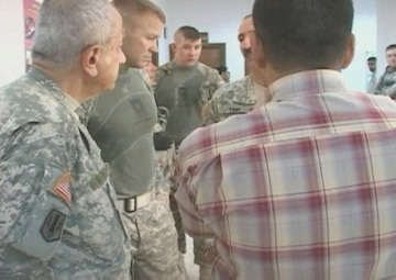 U.S. Army and Iraqi Civilian Doctors Provide Medical Care