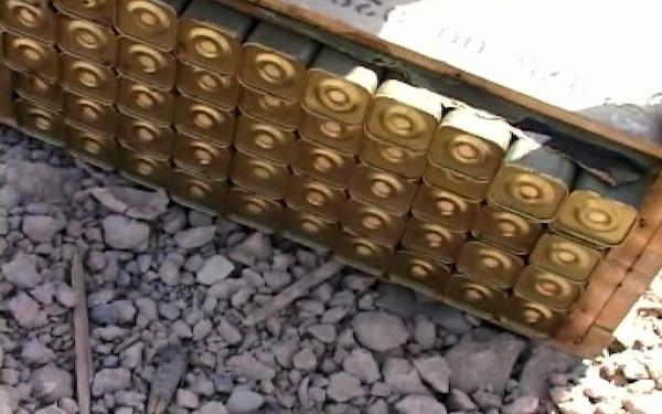Khazakhstan EOD Detonates Helo