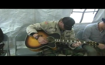 Toby Keith Visits Marines, Part 1