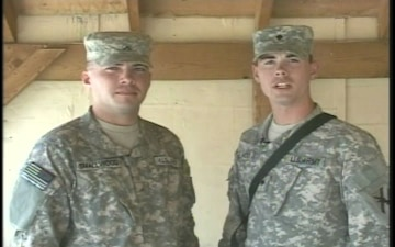 Spc. and Pvt. Smallwood