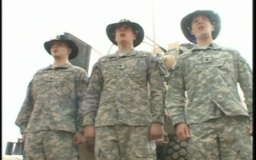 1st Cavalry Band Singers Perform National Anthem