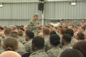 Air Force Chief of Staff Visits 380th AEW