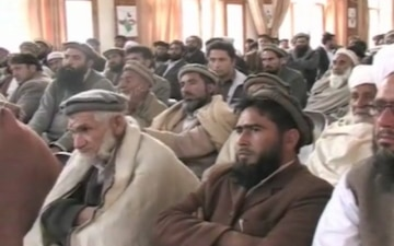 Groundbreaking Ceremony in Kunar Province, Afghanistan