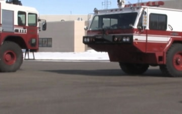 Wisconsin National Guard Dedicate Fire Station