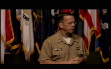 Adm. Mullen Speaks at Fort Leavenworth, Part 1