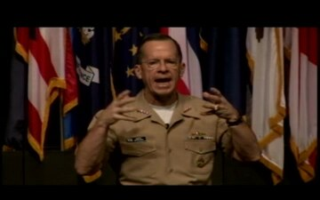 Adm. Mullen Speaks at Fort Leavenworth, Part 2