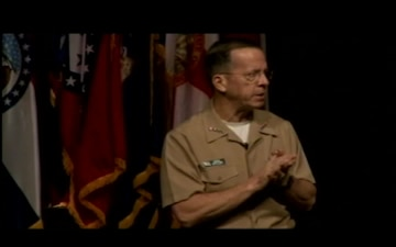 Adm. Mullen Speaks at Fort Leavenworth, Part 3