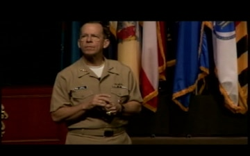 Adm. Mullen Speaks at Fort Leavenworth, Part 4