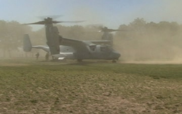 Marine Helicopter Raid Demonstration