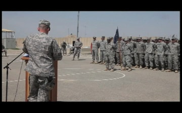 A 1-30 Infantry Company Change of Command